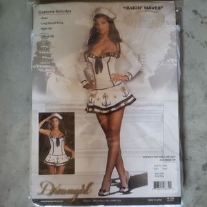 Dreamgirl's Size Small Sexy Makin' Waves Costume